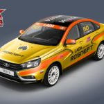 На XX Рождественской гонке чемпионов АвтоВАЗ представит спортивную Lada Vesta