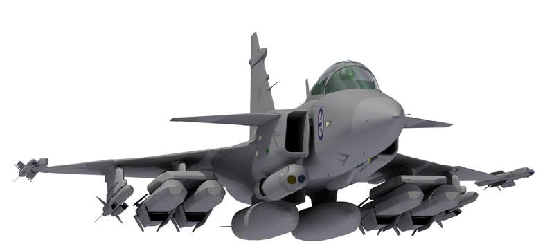 Приложения дополнят функциональность истребителей Gripen