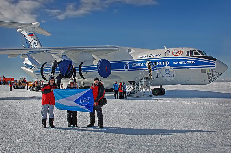Проведен очередной этап летных испытаний самолета Ил-76ТД-90ВД в Антарктиде