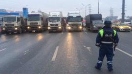 Российских дальнобойщиков обяжут сдавать экзамены для получения допуска к международным рейсам