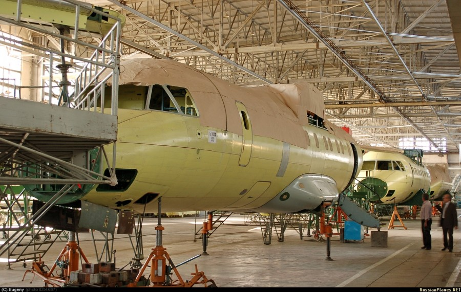 Состояние программы производства Ан-140 в Иране