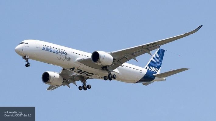Airbus A350-1000 совершил первый полет