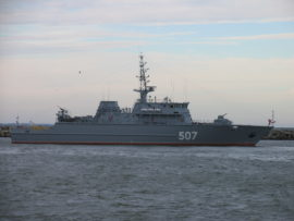 Александр Обухов передан Военно-морскому флоту России