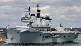 Британия продала свой авианосец