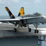 За полгода разбилось 11 F-18