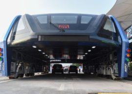 Китайский проект портального автобуса потерпел фиаско