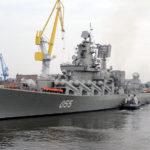 Крейсер «Маршал Устинов» вернулся в строй после пятилетнего ремонта