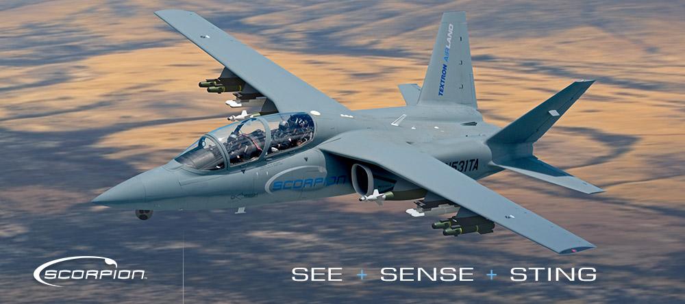 Серийная версия штурмового самолета Scorpion