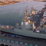 В Австралии спустили на воду второй ракетный эсминец класса «Хобарт»