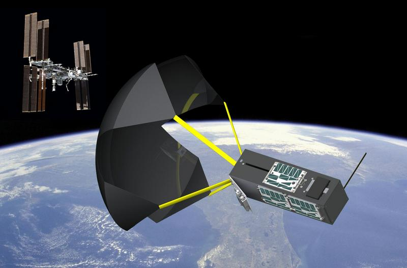 NASA создаст космический парашют