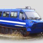 Тест-драйв снегоболотоходов «РМ-Терекс» прошел в Сочи
