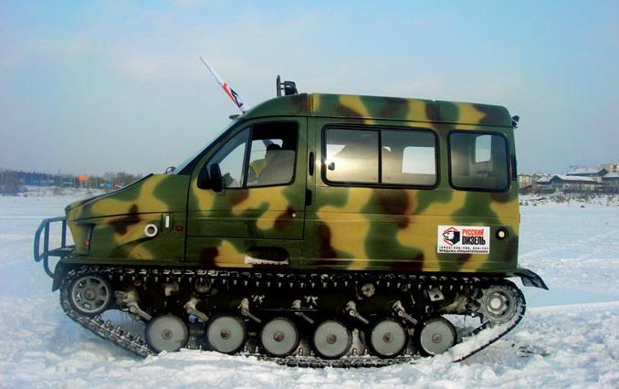 "Снегоболотоход ГАЗ-3409 ""Бобр"""
