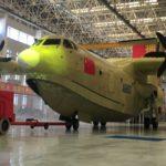 В Китае назвали дату первого полета самого большого в мире самолета-амфибии