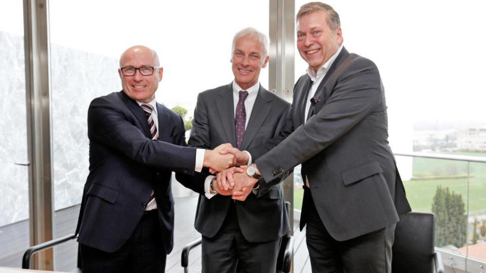 VW и Tata буду выпускать совместные автомобили