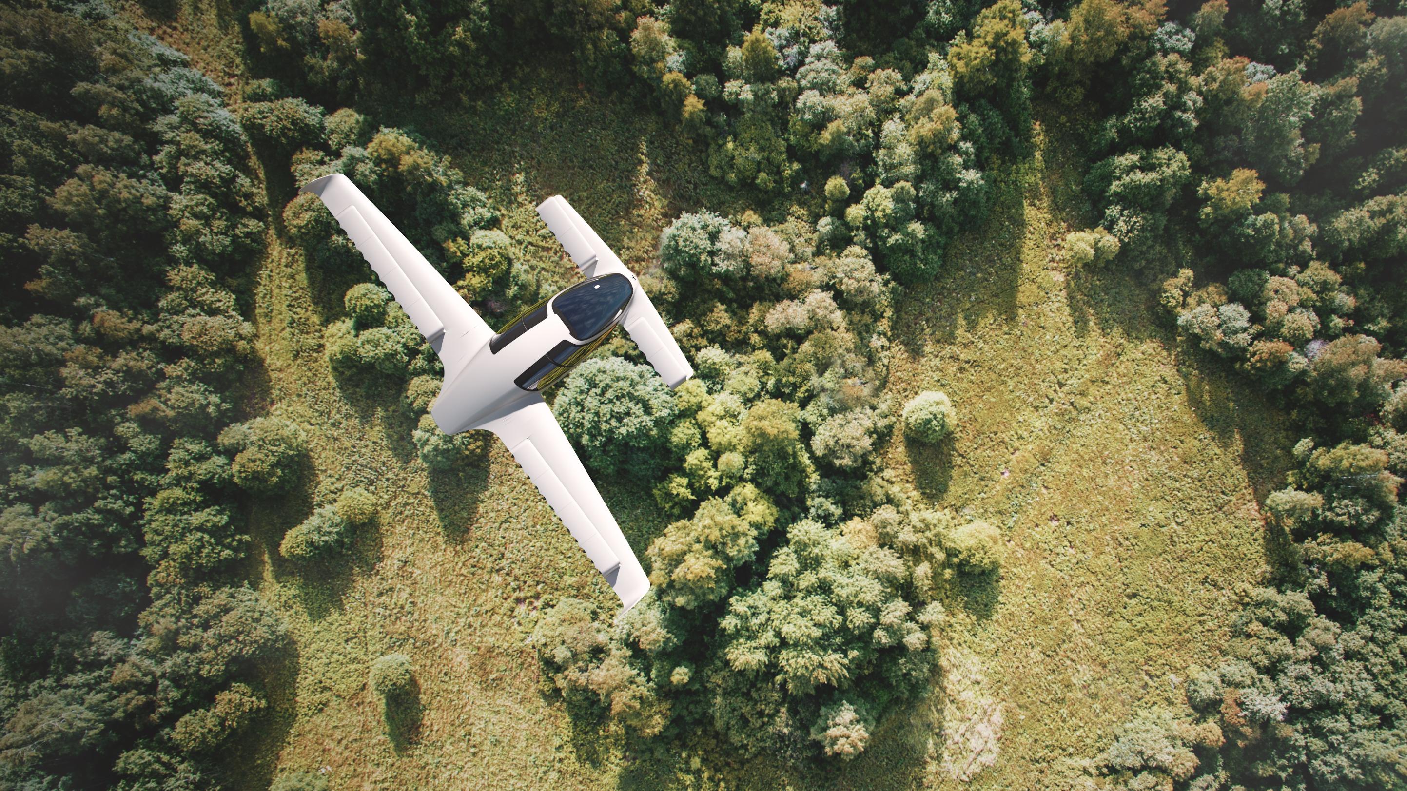В ФРГ испытали летающий электромобиль