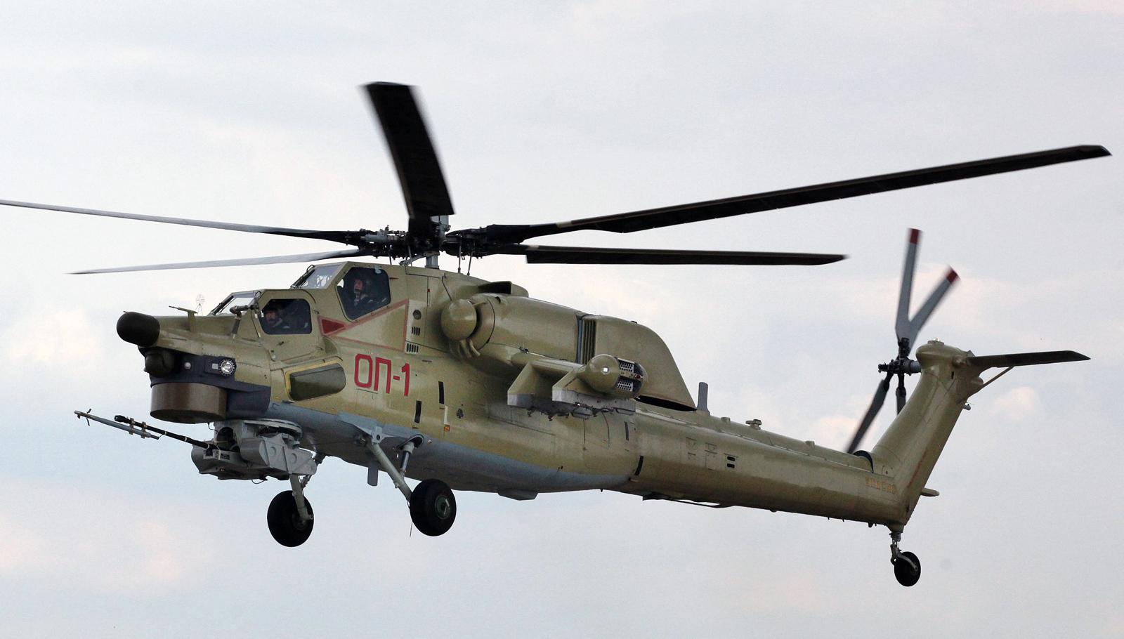 Запущено серийное производство учебно-боевого вертолета Ми-28УБ