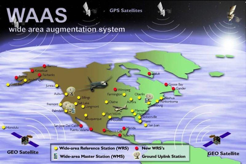 Новые спутники для корректирующей системы гражданской авиации