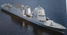 Проект сторожевого корабля (фрегата) PPA, ВМС Италии