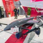 На выставке HeliRussia показали новый беспилотник-конвертоплан