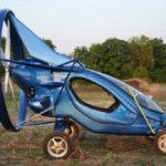 В России создали летающий электромобиль