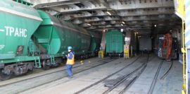 Для перевозки грузов в Калининград построят три железнодорожных парома