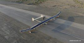 Китайский дрон на солнечных батареях совершил успешный полет