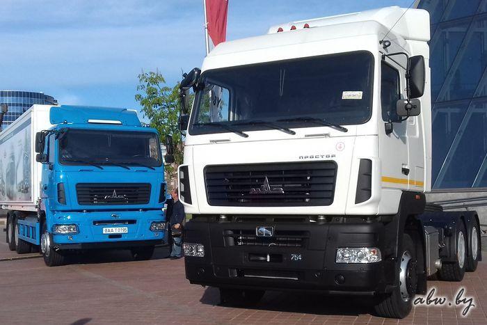 МАЗ в мае откатился на девятое место на рынке грузовиков в России