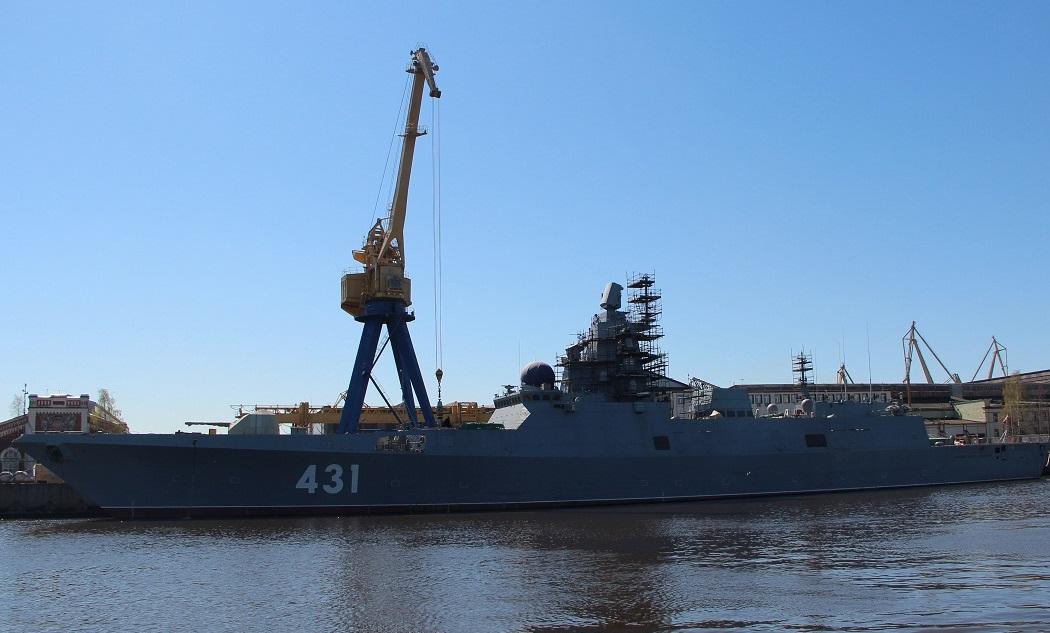 На фрегате «Адмирал флота Касатонов» начались испытания дизель-генераторов