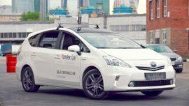Прототип беспилотного автомобиля «Яндекса»