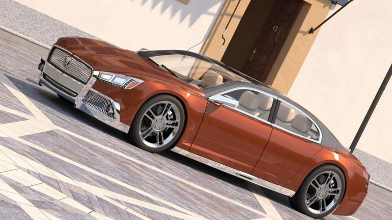 «Волга-2020», разработанный Александром Штормом, призван воскресить дух старых автомобилей Volga
