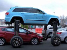 Американцы создали автомобиль, которому пробки не страшны