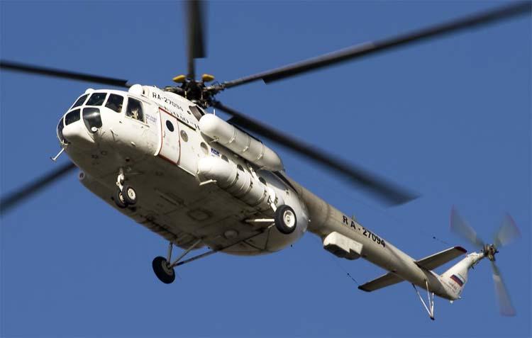 Вертолет Ми-8АМТ (экспортное обозначение Ми-171) технические характеристики