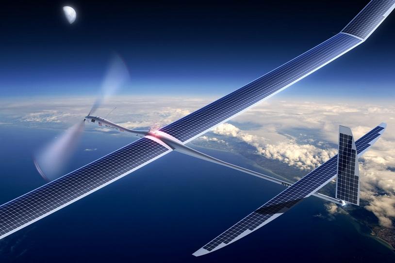 Китай планирует запустить телекоммуникационные дроны на солнечных батареях