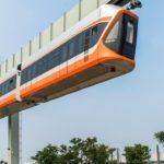 Китай тестирует сверхновый подвесной поезд