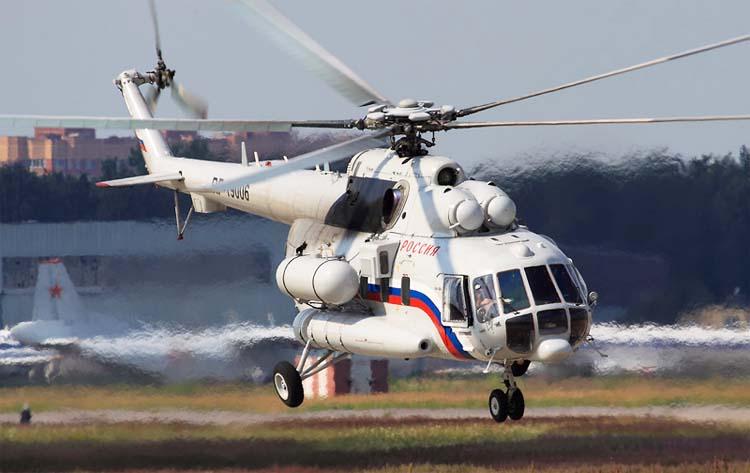 Многоцелевой вертолет Ми-8АМТ (экспортное обозначение Ми-171)