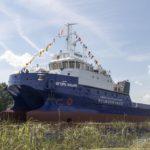 Окская судоверфь спустила на воду катамаран «Игорь Ильин»