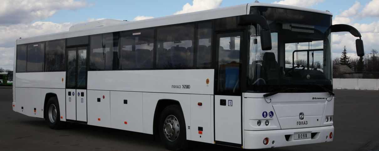 Экспериментальный автобус ЛиАЗ «Вояж» вышел на маршрут «Мострансавто»