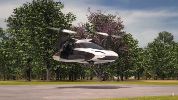 Geely создает летающий автомобиль