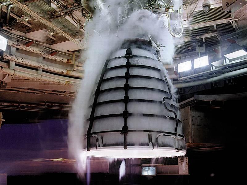 RS-25 успешно прошел третий огневой тест