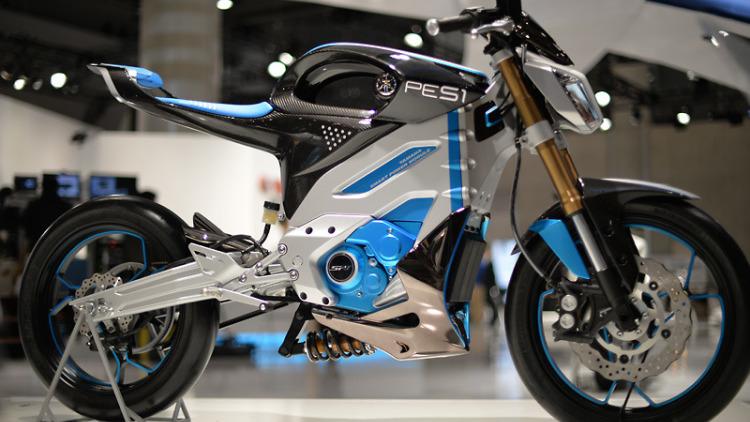 электрический байк Yamaha PES1