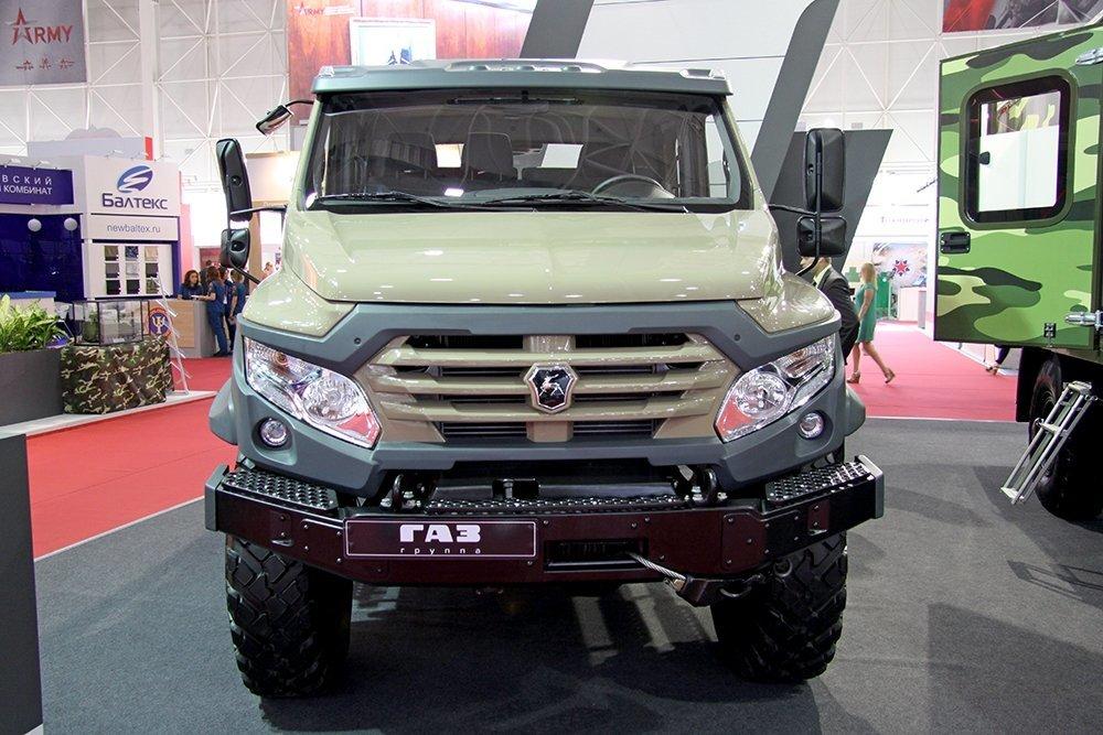 «Вепрь NEXT» спроектирован на базе узлов и агрегатов грузовика ГАЗ-33088 «Садко»