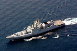 Индийский фрегат проекта 11356 Talwar (F40)