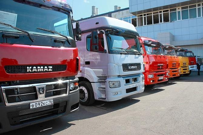 КАМАЗы составили почти треть всех проданных грузовых авто