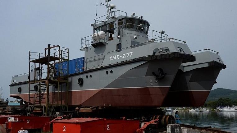 Поисково-спасательный катер нового поколения для ТОФ спустили на воду