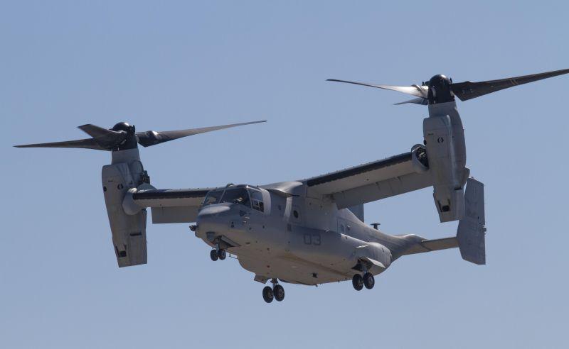 Разбился конвертоплан MV-22 Osprey