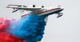 Российский самолёт-амфибию Бе-200