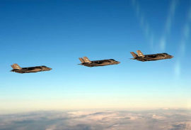 В Норвегию прибыла первая партия истребителей F-35A Лайтнинг-2