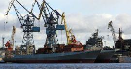 Спущены на воду фрегаты проекта 11356 Адмирал Истомин и Адмирал Корнилов