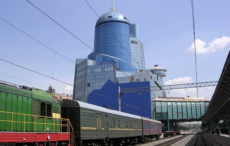 Железнодорожный вокзал в Самаре