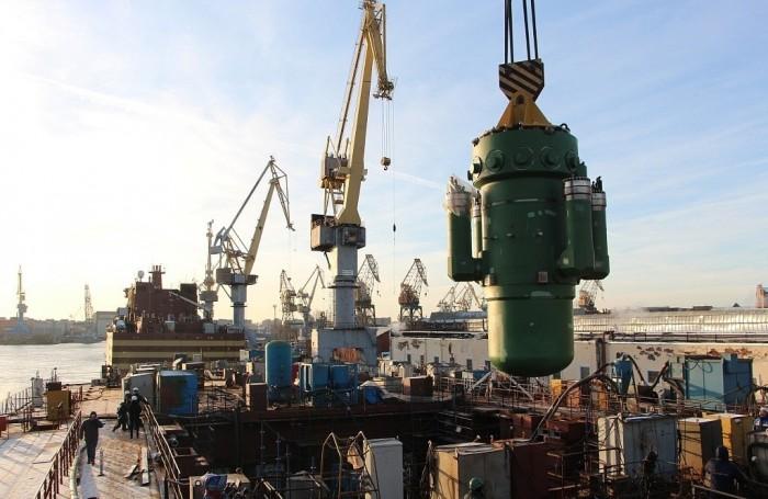 На атомоходе «Сибирь» установлен второй реактор «РИТМ-200»